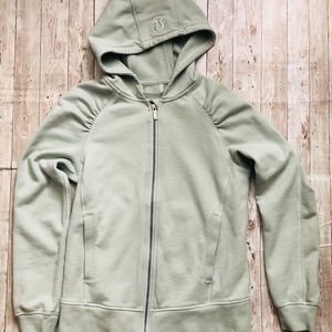 Lululemon Athletics Green Zip Up Hoodie Size 4
